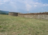 Diana - South wall and SW corner tower