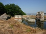 Pontes - Remains of the Trajan's Bridge on the the right bank of Danube (Serbian side)