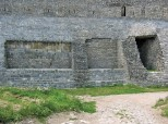 Singidunum- Roman walls incorporated into later fortification system