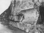 Tabula Traiana - pre izmeštanja na današnju lokaciju