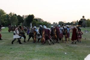 Borba Rimljana sa varvarima