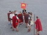 Demonstracija borbenih veština - mali legionari u akciji (foto M. Tapavički-Ilić)